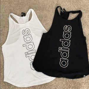 EUC Adidas workout tanks